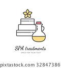 Spa logo vector 32847386