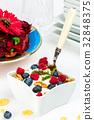 藍莓 早餐 穀類 32848375