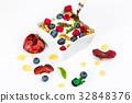 藍莓 早餐 穀類 32848376