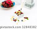 藍莓 早餐 穀類 32848382