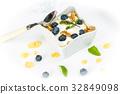 blueberries blueberry breakfast 32849098