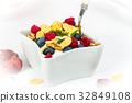 藍莓 早餐 穀類 32849108