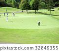 高爾夫球場 高爾夫 草坪 32849355