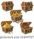 treasure chest set 32849787