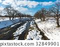 ฤดูหนาว,แม่น้ำ,อะกิตะ 32849901