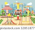 amusement child vector 32851877