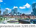 東京站·城市景觀 32851995