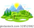 spring, tree, landscape 32852082