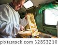 honey, beekeeper, honeycomb 32853210