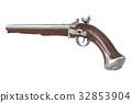 Pistol gun old 32853904
