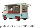 Food truck retro style 32853907