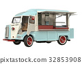 Food car eatery beige 32853908