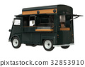 Food truck retro style 32853910