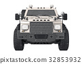 Suv car auto, front view 32853932