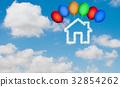 เมฆ,ท้องฟ้า,บ้าน 32854262