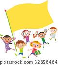 旗幟 旗 橫幅 32856464