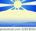 풍경, 경치, 여름 32858562