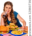 fries, french, potato 32860736