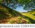mountain, hill, meadow 32864454
