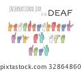 language, sign, hand 32864860