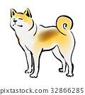 秋田犬 32866285