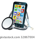 Mobile Phone Health Concept 32867004