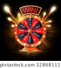 wheel, fortune, lucky 32868111