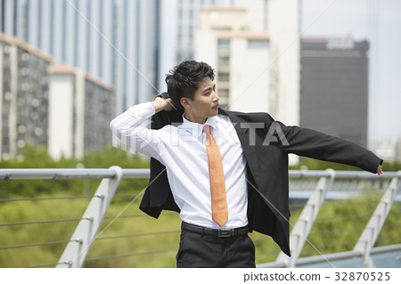 비즈니스맨,샛강다리,여의도,영등포구,서울 32870525