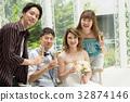 wedding, champagne, chum 32874146