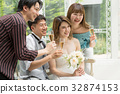 wedding, champagne, chum 32874153