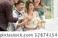 wedding, champagne, chum 32874154
