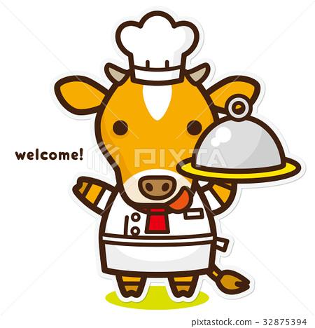 奶牛 牲口 牛 32875394