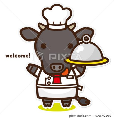 奶牛 牲口 牛 32875395