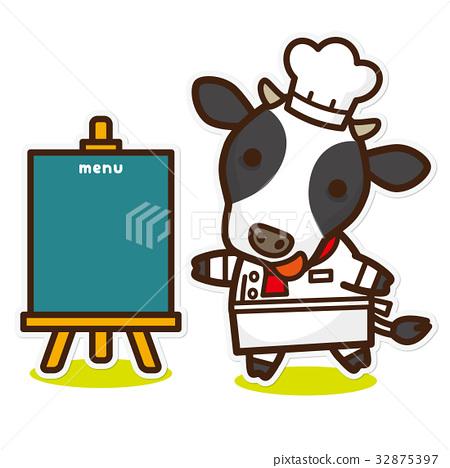 奶牛 牲口 牛 32875397