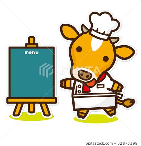 奶牛 牲口 牛 32875398