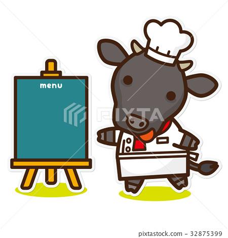 奶牛 牲口 牛 32875399