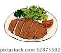좋아하는 음식 돈까스 32875502