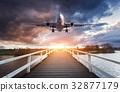 เครื่องบิน,เรือบิน,เมฆ 32877179