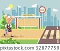 Vector illustration cartoon characters child 32877759