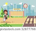 Vector illustration cartoon characters child 32877766