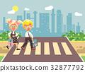 Vector illustration cartoon characters children 32877792