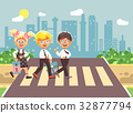 Vector illustration cartoon characters children 32877794