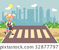 Vector illustration cartoon characters child 32877797