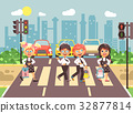 Vector illustration cartoon characters children 32877814
