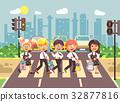 Vector illustration cartoon characters children 32877816