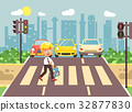Vector illustration cartoon character child 32877830