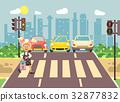 Vector illustration cartoon character child 32877832