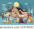 Vector illustration cartoon characters children 32878682