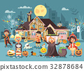 Vector illustration cartoon characters children 32878684