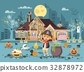 Vector illustration banner brochure cartoon 32878972